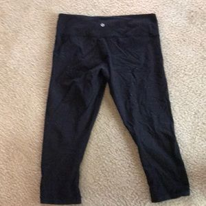 Lululemon Fitted Crops